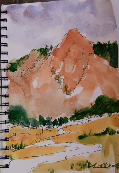 Pencil and Watercolor Sketches 9-17-2017 (8 of 13)